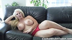 Alura Jenson makes you her cum eating cuckold